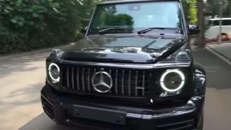 Mobil mewah baru Raffi Ahmad, Mercedes-Benz G63 AMG