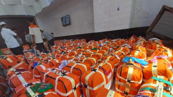 Pemeriksaan Koper Jemaah Haji