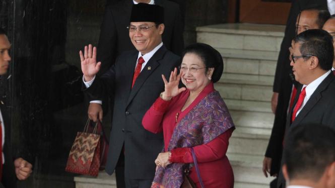 Presiden RI ke-5 sekaligus Ketua Umum PDIP Megawati Soekarno Putri