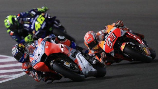 Dovizioso bersaing ketat dengan Marquez di MotoGP Austria 2019