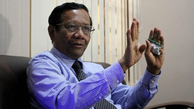 Mahfud MD saat Ditemui VIVA di Jakarta