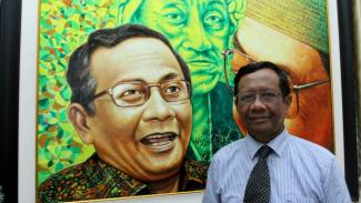 Menkopolhukam Mahfud MD saat ditemui VIVA di Jakarta.