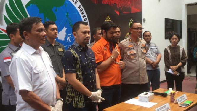 Rio Reifan ditangkap polisi karena penyalahgunaan narkoba.