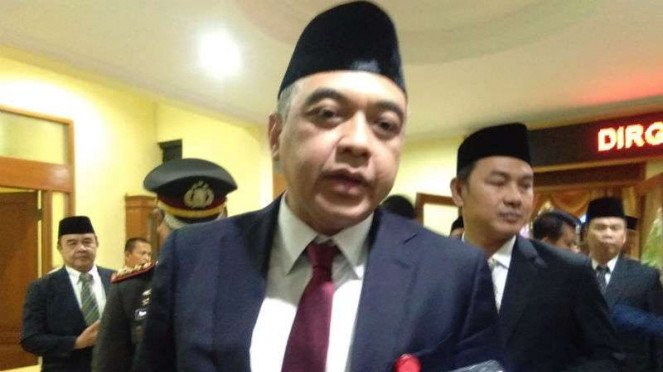 Bupati Tangerang Ahmed Zaki Iskandar