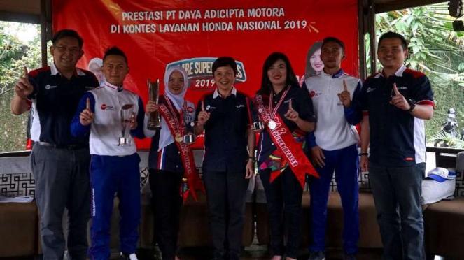 Perwakilan DAM di Kontes Layanan Honda Nasional 2019
