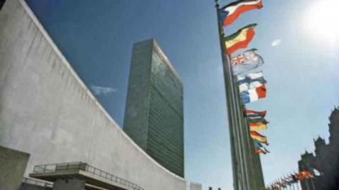 Kantor Pusat PBB di New York, AS.