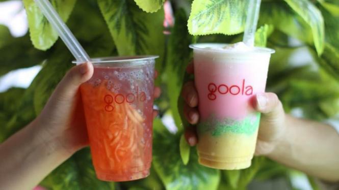 Startup minuman Goola didirikan oleh putra Jokowi, Gibran Rakabuming.