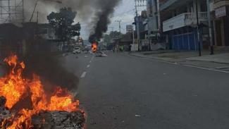 Kerusuhan kembali terjadi di Papua.