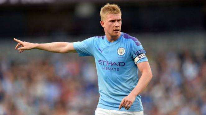 Gelandang Manchester City, Kevin De Bruyne