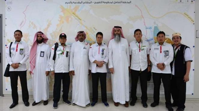 Pertemuan Misi Haji Indonesia dengan Kementerian Haji Arab Saudi