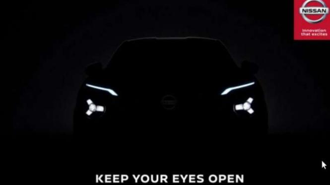 Gambar penggoda mobil baru Nissan, meluncur 3 September 2019