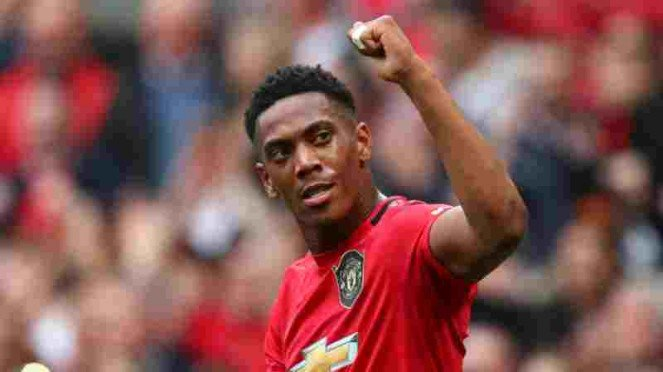 Pemain Manchester United, Anthony Martial.