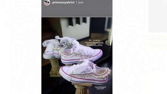 Sneakers Syahrini