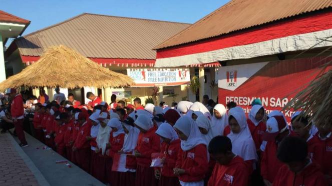 Sekolah Dasar Gondang 01, 03, 04  di Lombok