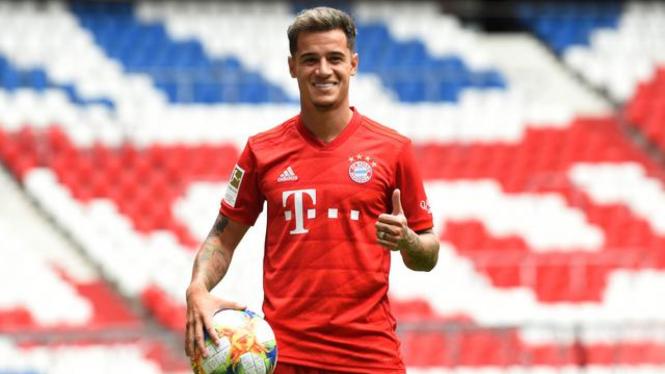 Coutinho resmi jadi pemain Bayern Munich