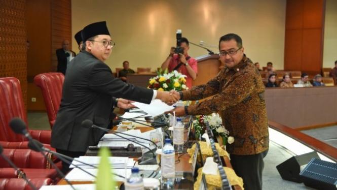 Wakil Ketua Badan Anggaran DPR (Banggar) Teuku Riefky Harsya