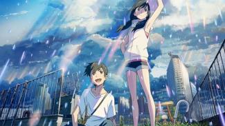 Weathering With You, film animasi Jepang yang tayang di Indonesia.