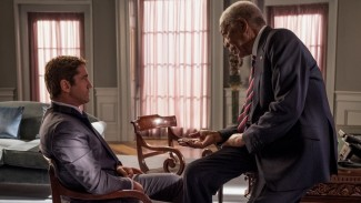 Angel Has Fallen Dibintangi Gerard Butler dan Morgan Freeman.