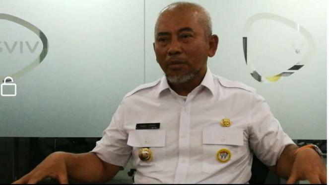 Wali Kota Bekasi, Rahmat Effendi, mengunjungi redaksi Vivanews.