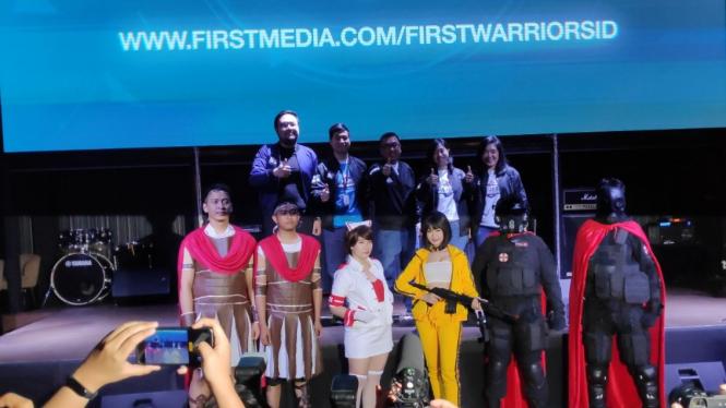 First Media Gelar Kompetisi e-Sport