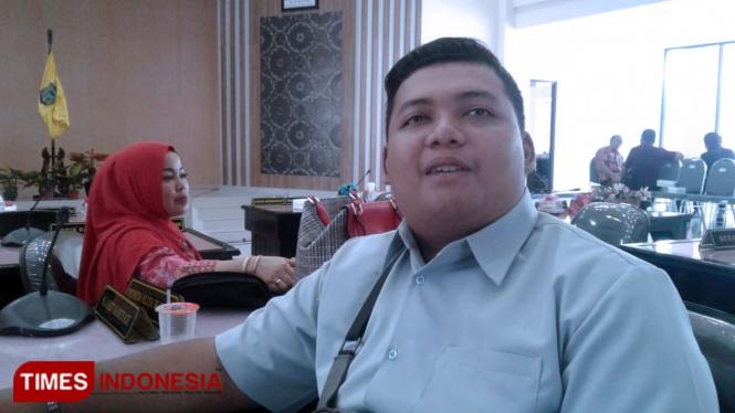 Ihsanrrahman Sidiq calon anggota DPRD Kota Madiun. (Foto: Ito Wahyu Utomo/TIMESIndonesia)