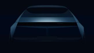 Gambar penggoda mobil konsep Hyundai 45 EV