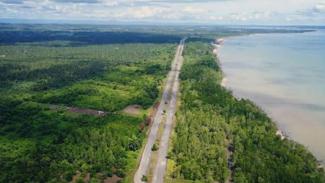 Pemandangan Penajam Kalimantan Timur. Foto: Ig: @kaltimku