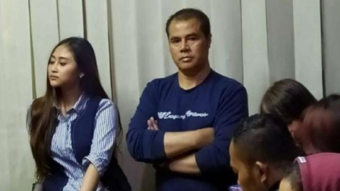 Anggota DPD RI, Aceng Fikri terjaring razia yustisi