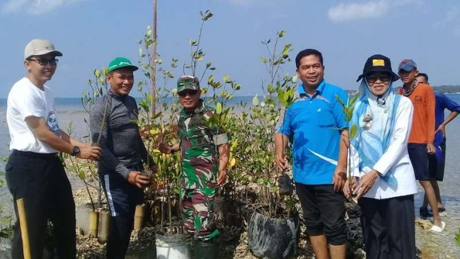 """Gerakan 100.000 Pohon Bakau Untuk Lampung Selatan""."