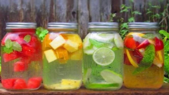 Minuman warna-warni yang menyehatkan