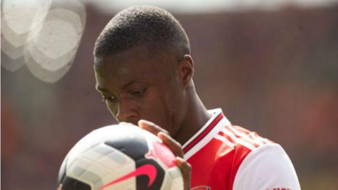 Winger anyar Arsenal, Nicolas Pepe