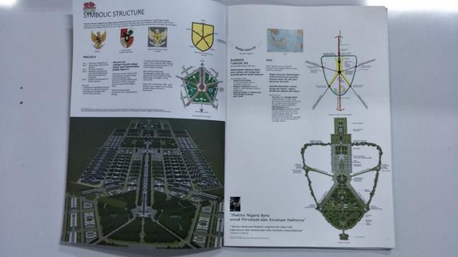 Konsep Desain Ibu Kota Negara dari Kementerian PUPR.