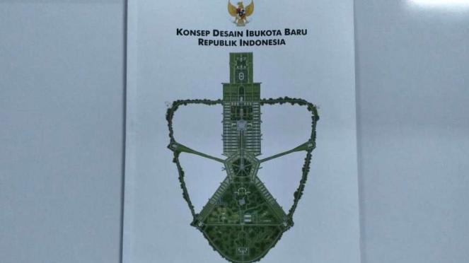 Konsep Desain Ibu Kota Negara versi Kementerian PUPR.