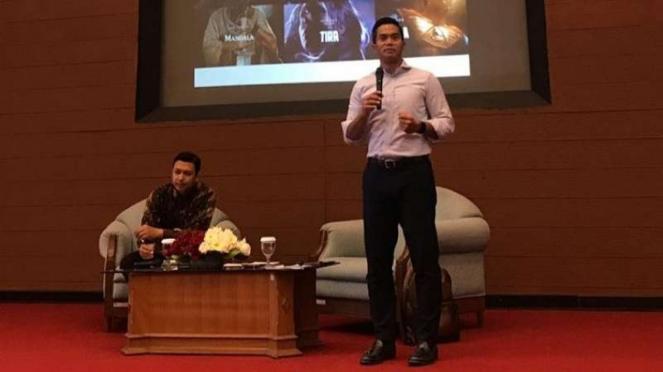 Anindya Bakrie beri kuliah umum di MM UGM Yogyakarta