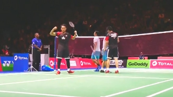 Mohammad Ahsan/Hendra Setiawan di Perempat Final Kejuaraan Dunia 2019