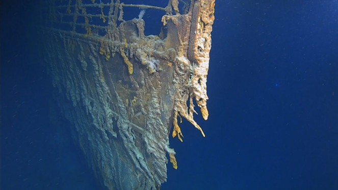 Kondisi terkini kapal Titanic