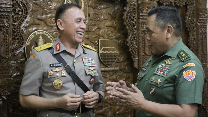 Caketum-Cawaketum PSSI Mochamad Iriawan alias Iwan Bule & Cucu Somantri