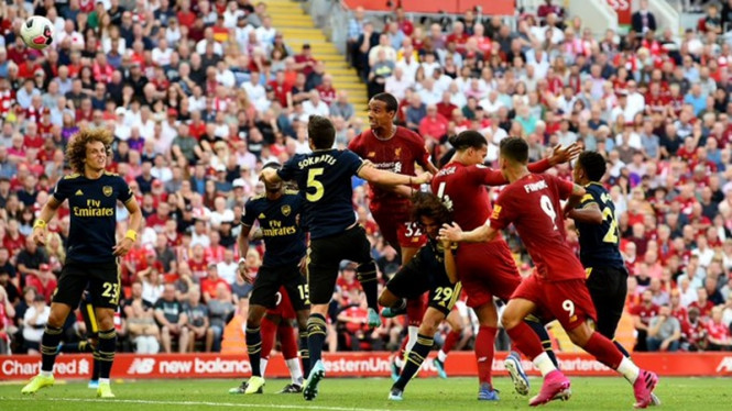 Pertandingan Liverpool vs Arsenal