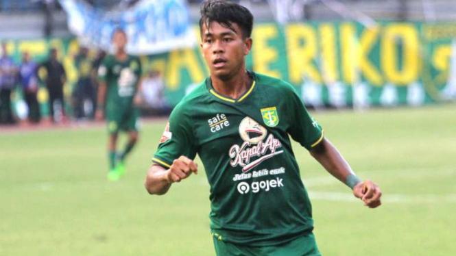 Winger Persebaya Surabaya, Mochammad Supriadi.