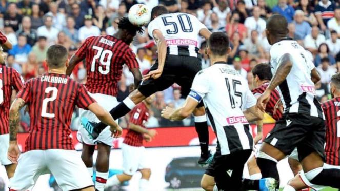 Udinese menang atas AC Milan