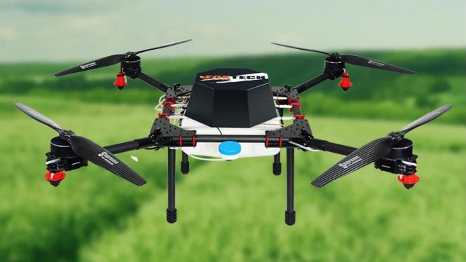 Gambar diatas merupakan contoh gambar drone