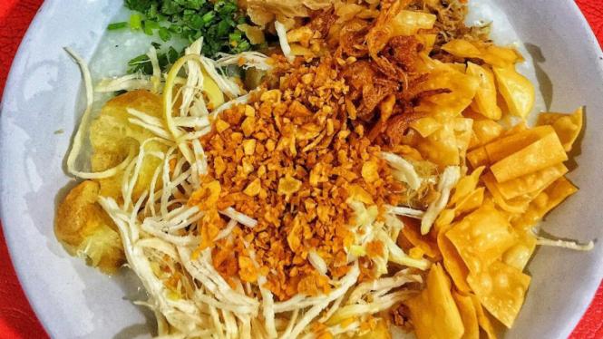 4 Rekomendasi Bubur Ayam Terkenal Di Jakarta Di Bawah Rp15 Ribu Viva