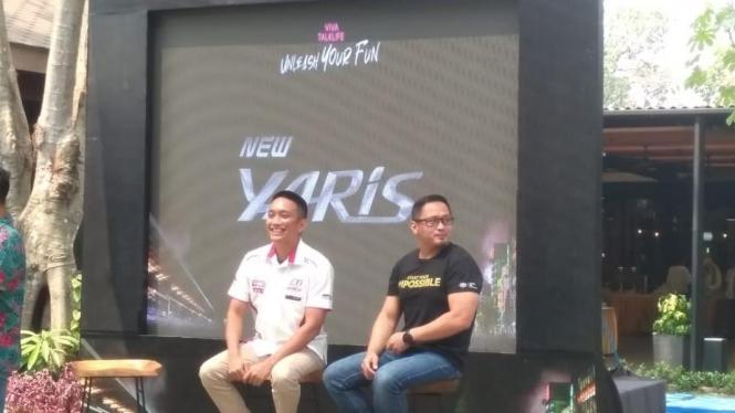 Demas Agil, Racing Driver, Toyota Team Indonesia, Toyota Yaris, Unleash Your Fun, Viva Talk Live