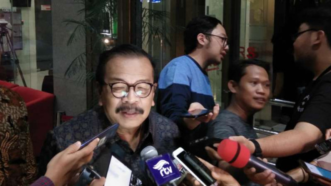 Mantan gubernur Jawa Timur Soekarwo usai diperiksa oleh KPK untuk kasus dugaan suap dana hibah Kabupaten Tulungagung di Jakarta, Rabu 28 Agustus 2019.