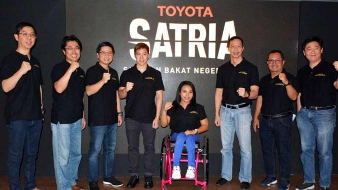 Ajang pencarian atlet berbakat oleh Toyota Indonesia