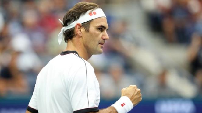 Petenis asal Swiss, Roger Federer di US Open 2019