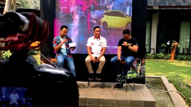 Acara VIVA TALKLIVE bersama Toyota Yaris-dokpri