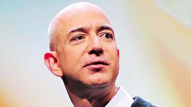 Pemilik Amazon, Jeff Bezos.