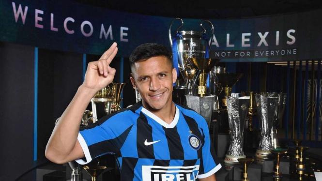 Alexis Sanchez resmi berseragam Inter Milan