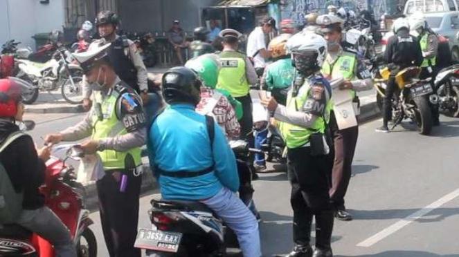 Pelaksanaan Operasi Patuh Jaya 2019 di Kota Depok